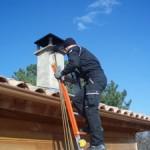 ramonage sur le toit